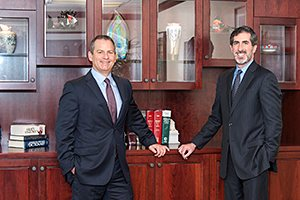 attorneys Gabriel Lependorf and David Silverstein